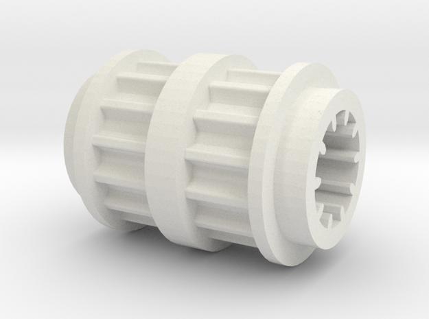 LA-11-TW in White Natural Versatile Plastic