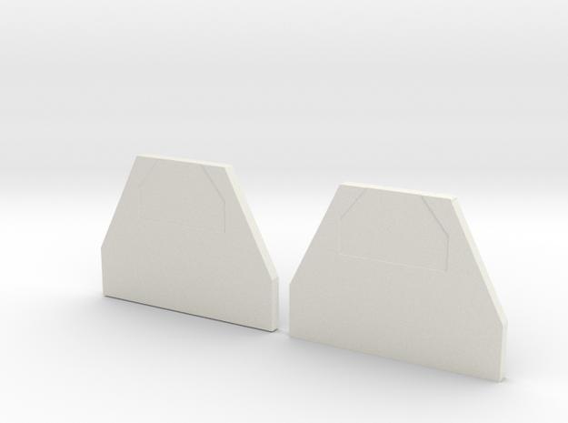 Hot Water Bottle Enhancer in White Natural Versatile Plastic: Medium