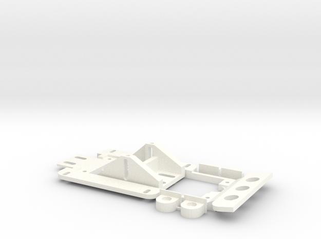 1/32 Uni-Chassis in White Processed Versatile Plastic