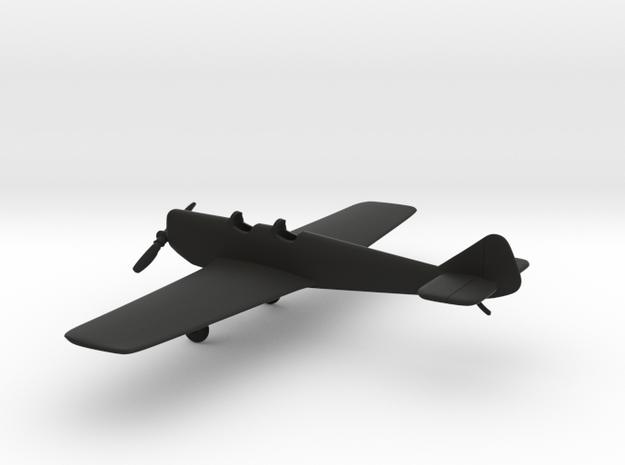 Miles M.2 Hawk Trainer in Black Strong & Flexible: 1:108