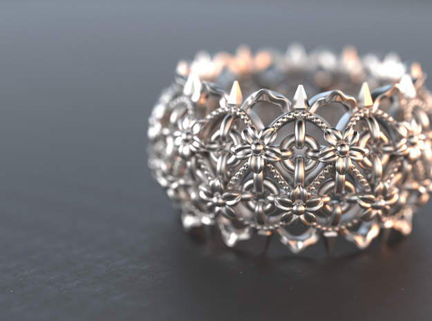 Thorns and  Flowers Ring