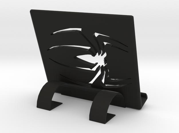 Phone/Tablet Stand in Black Natural Versatile Plastic