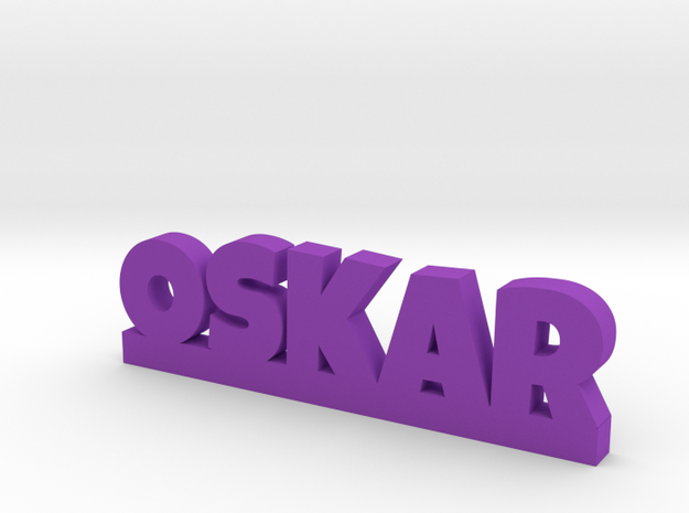 OSKAR Lucky in Purple Processed Versatile Plastic