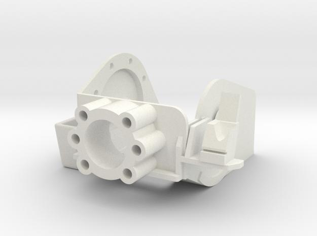 MG151 Gun Mount 1:6  in White Natural Versatile Plastic
