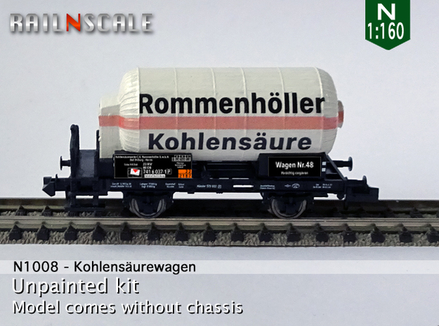 Kohlensäurewagen (N 1:160) in Frosted Ultra Detail