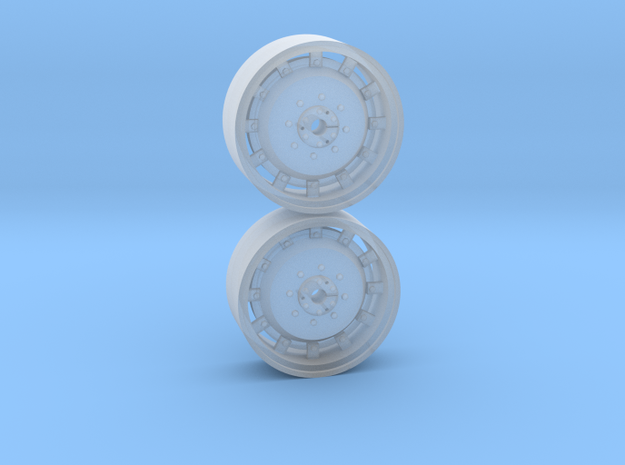 1/64th Scale 42 Inch Cast Wheel in Smooth Fine Detail Plastic