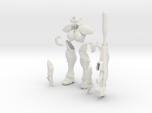 1/12 Terran Ghost Armor and Rifle