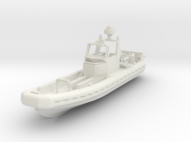 1/87 Riverine Patrol Boat or SURC with weapons in White Strong & Flexible