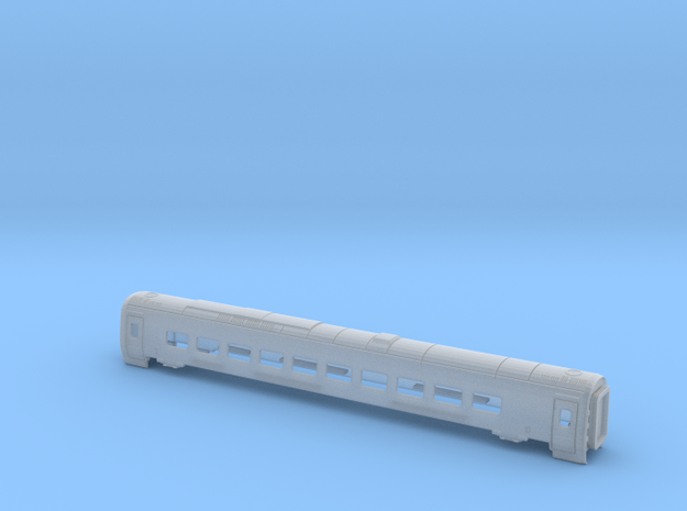 ETR610-Carriage 4 Z, N and TT in Smooth Fine Detail Plastic: 1:160 - N