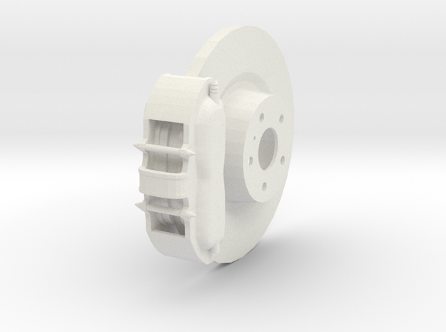 Brake System in White Strong & Flexible