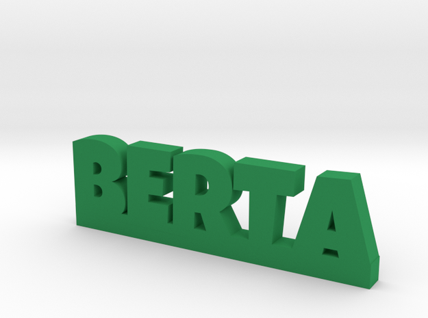 BERTA Lucky in Green Processed Versatile Plastic