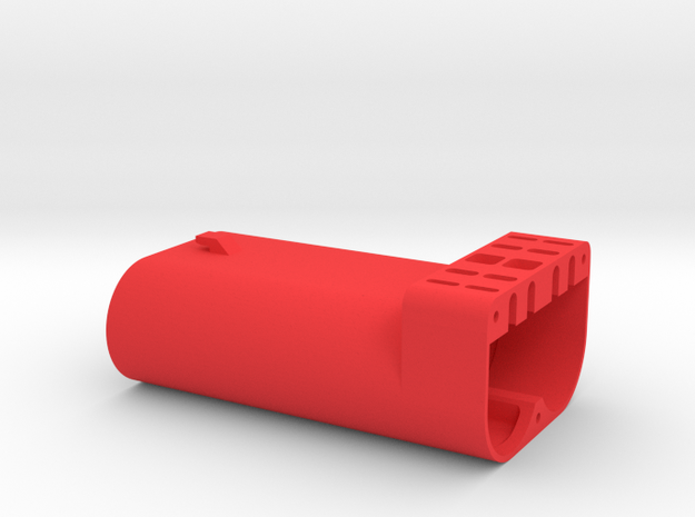 "Nanocopter ""Mini-Mavic"" - LiIon 18650 Case in Red Processed Versatile Plastic"