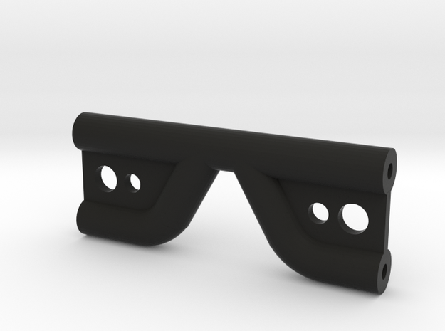 Axial Wraith shock tower brace in Black Natural Versatile Plastic