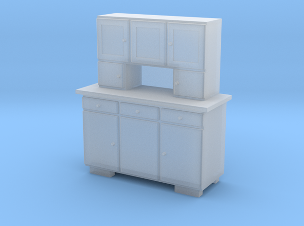 TT Cupboard 3 Doors - 1:120 in Frosted Ultra Detail