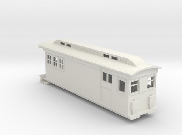 On30 Doodlebug/Railmotor Lindsay2 in White Strong & Flexible
