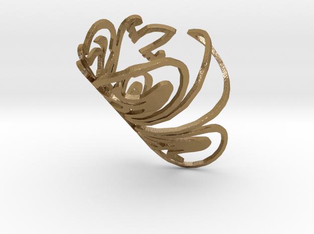 Bracelet RT in Polished Gold Steel