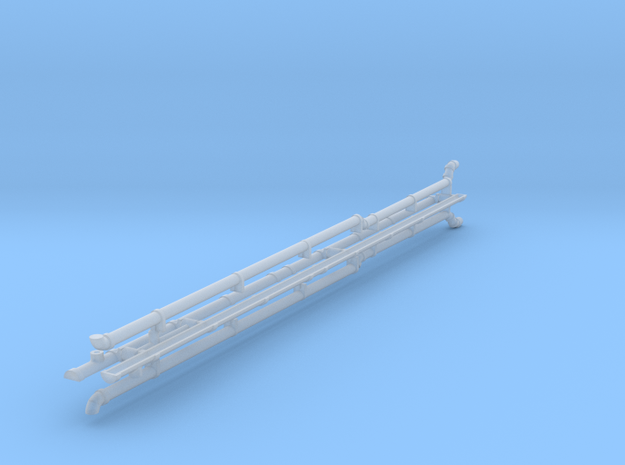 HG73 Guttering & Downpipes in Smooth Fine Detail Plastic
