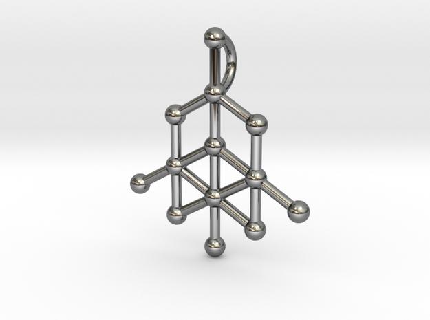 Diamond Molecule Pendant