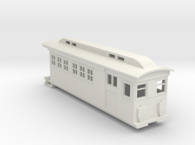 On30 Doodlebug/Railmotor Lindsay3 in White Strong & Flexible
