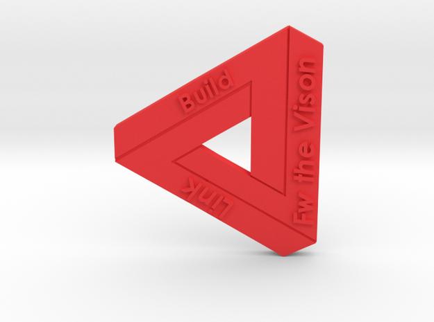 Fw The Vision in Red Processed Versatile Plastic