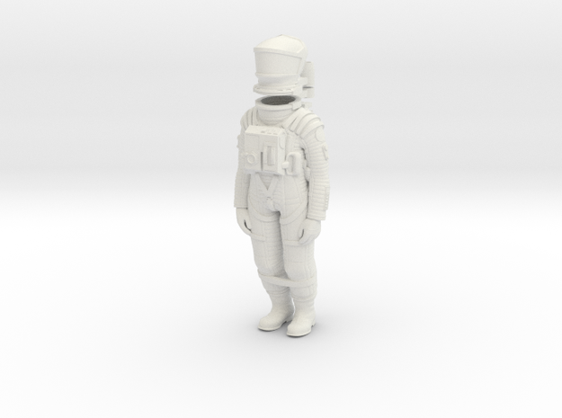 2001 Astronaut Storage 1:24 in White Strong & Flexible