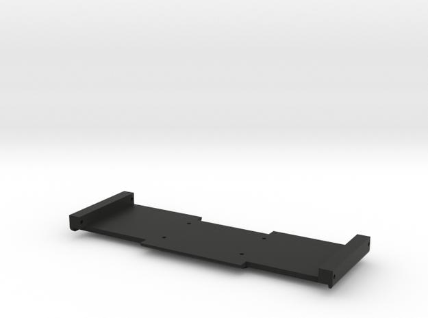 Adafruit IMU Board Holder - Full Cutout in Black Natural Versatile Plastic