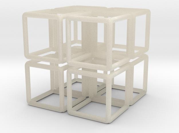 Building Cube 8x Scale 1-200 3,5x3,5x3,5m