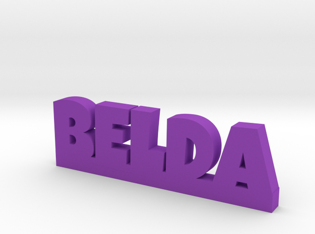 BELDA Lucky in Purple Processed Versatile Plastic