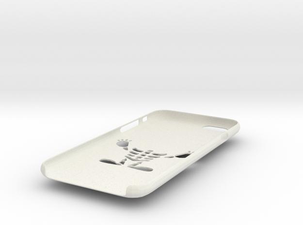 IPhone6s Skeletor Case in White Natural Versatile Plastic