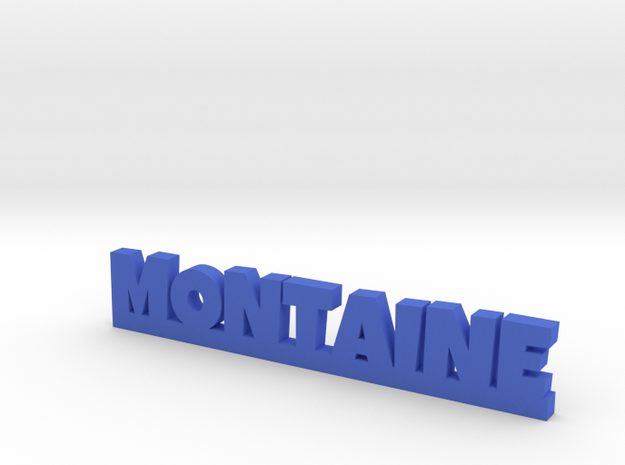 MONTAINE Lucky in Blue Processed Versatile Plastic