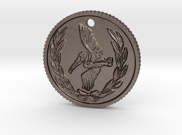 Resident evil 7 biohazard coin necklace