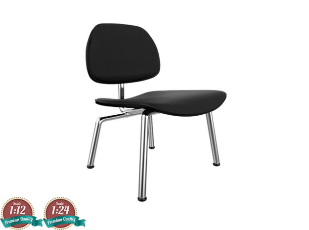 Miniature Eames LCM -  Leather - Charles Eames
