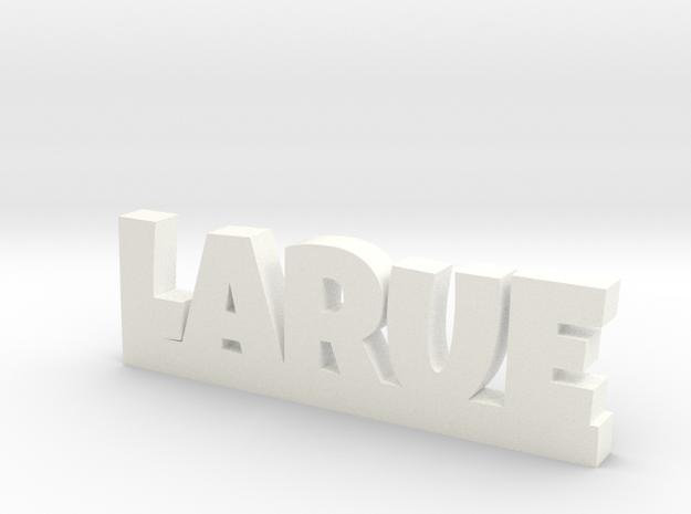 LARUE Lucky in White Processed Versatile Plastic