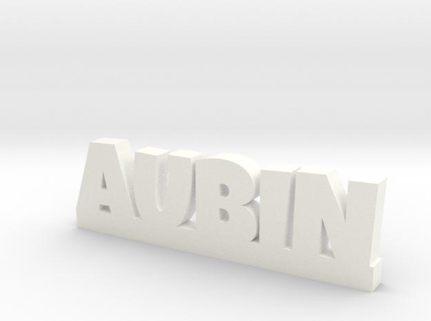 AUBIN Lucky in White Processed Versatile Plastic