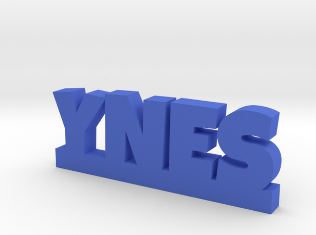 YNES Lucky in Blue Processed Versatile Plastic