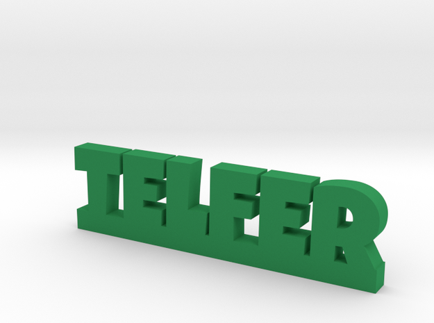 TELFER Lucky in Green Processed Versatile Plastic