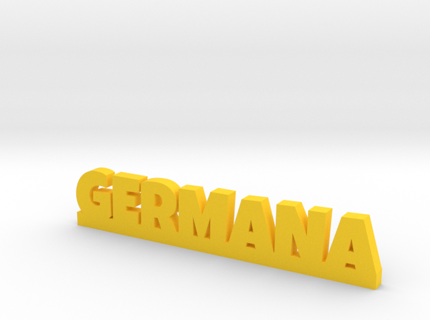GERMANA Lucky in Yellow Strong & Flexible Polished