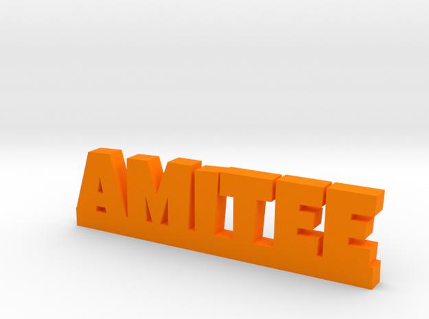 AMITEE Lucky in Orange Processed Versatile Plastic