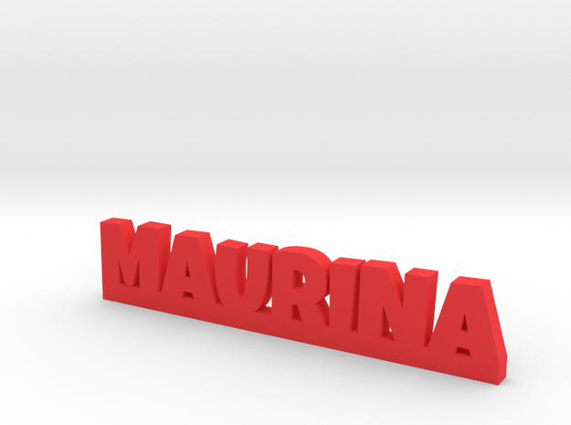 MAURINA Lucky in Red Processed Versatile Plastic