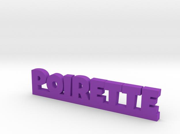 POIRETTE Lucky in Purple Processed Versatile Plastic