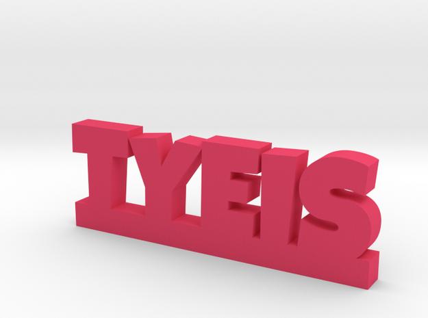 TYEIS Lucky in Pink Processed Versatile Plastic
