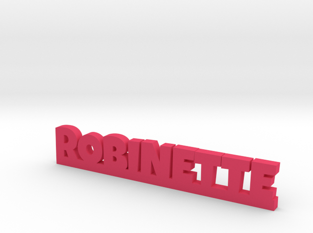 ROBINETTE Lucky in Pink Processed Versatile Plastic