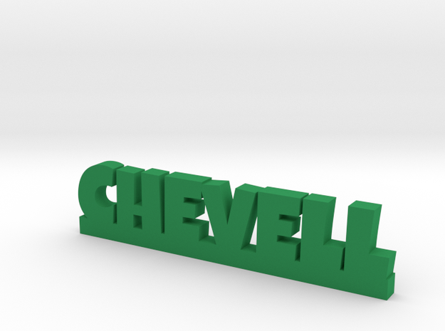 CHEVELL Lucky in Green Processed Versatile Plastic