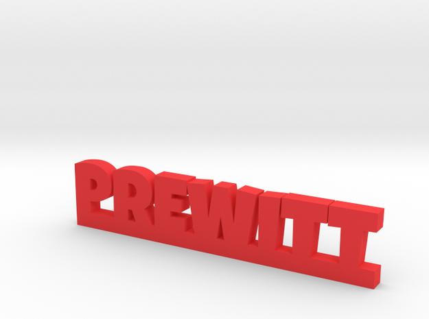 PREWITT Lucky in Red Processed Versatile Plastic