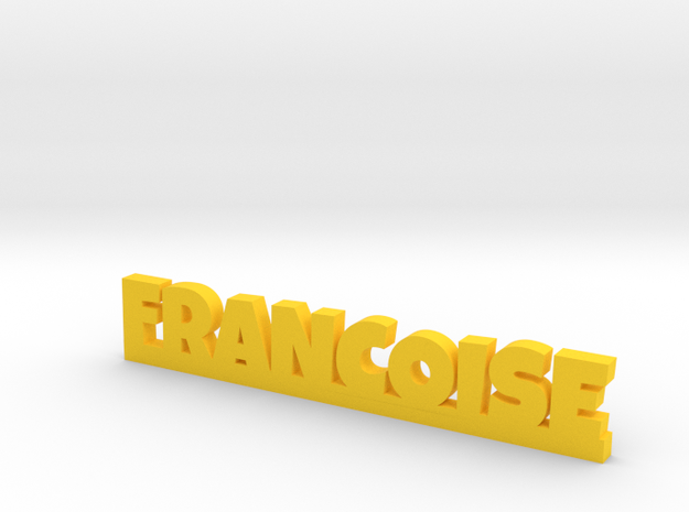 FRANCOISE Lucky in Yellow Processed Versatile Plastic