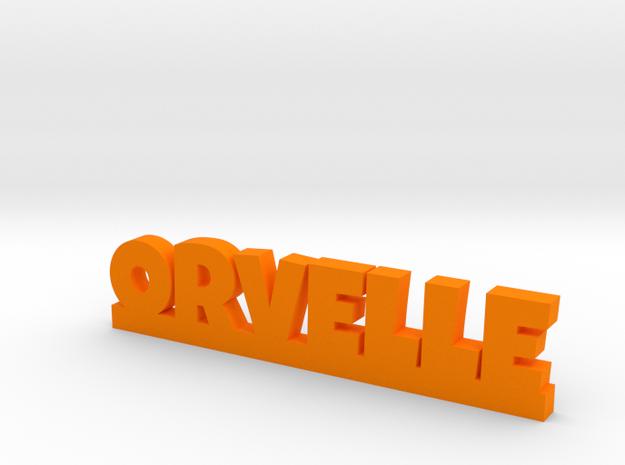 ORVELLE Lucky in Orange Processed Versatile Plastic