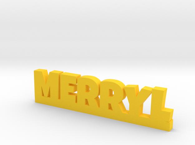 MERRYL Lucky in Yellow Processed Versatile Plastic