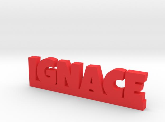 IGNACE Lucky in Red Processed Versatile Plastic