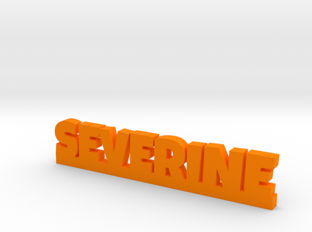 SEVERINE Lucky in Orange Processed Versatile Plastic