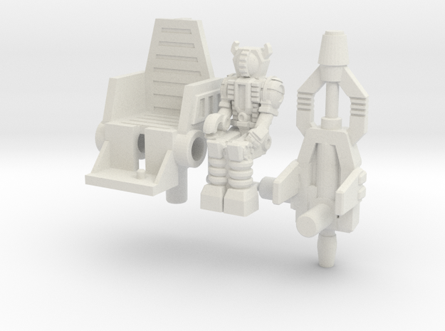 Waruder/Titan Kit for Skrapnel/Shrapnel in White Strong & Flexible